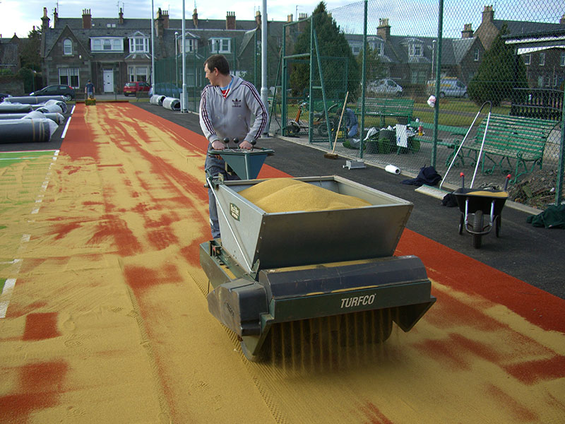 LeisureTec Surfaces | Sand Filled Pitch Surface